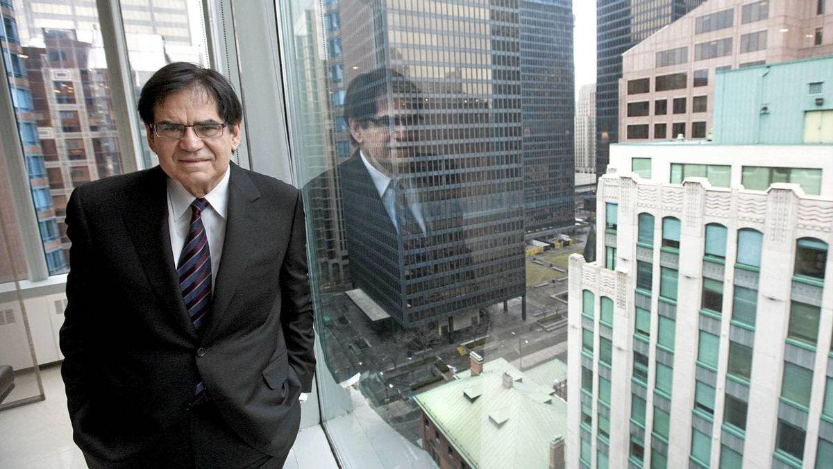 OMERS president and CEO Michael Nobrega
