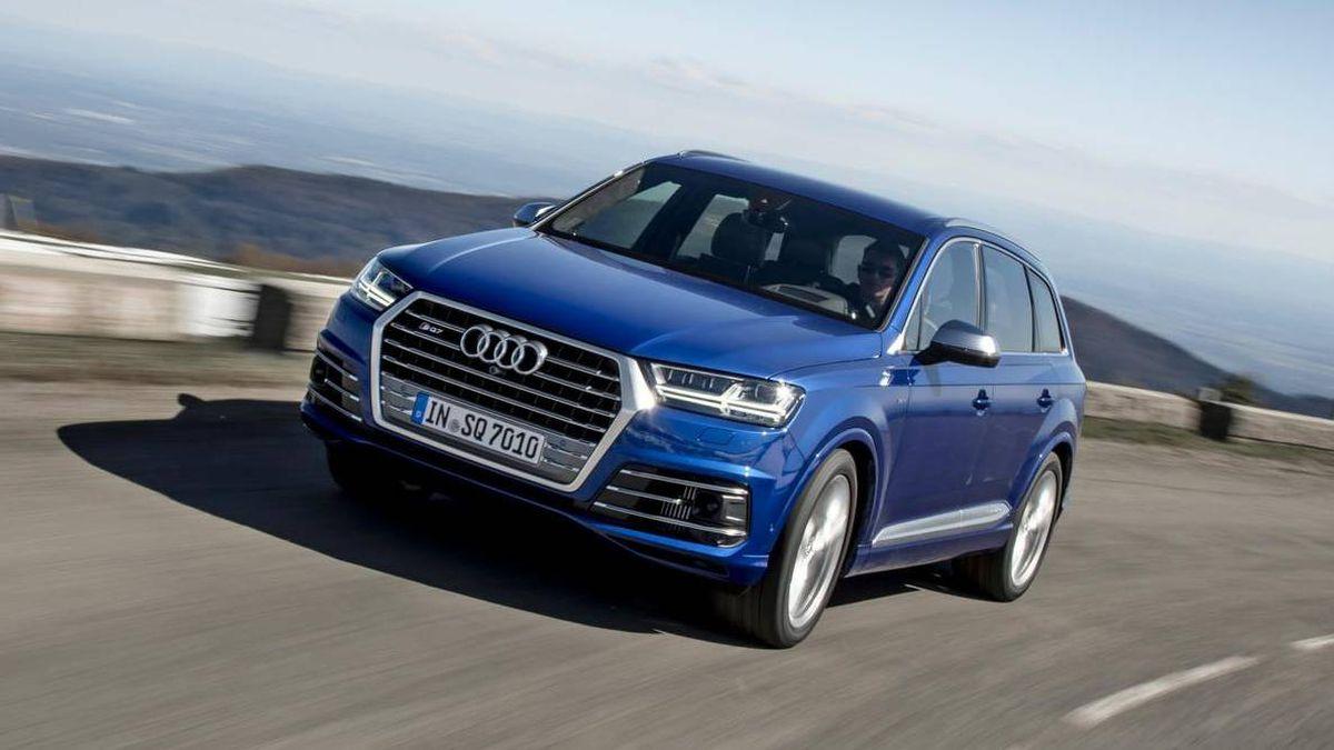 Audi audi sq7 tdi : Review: 2018 Audi SQ7 TDI is a demonic diesel - The Globe and Mail