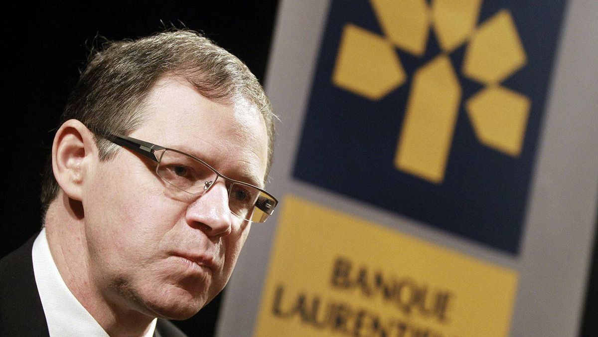 Rejean Robitaille, president and chief executive of Laurentian Bank