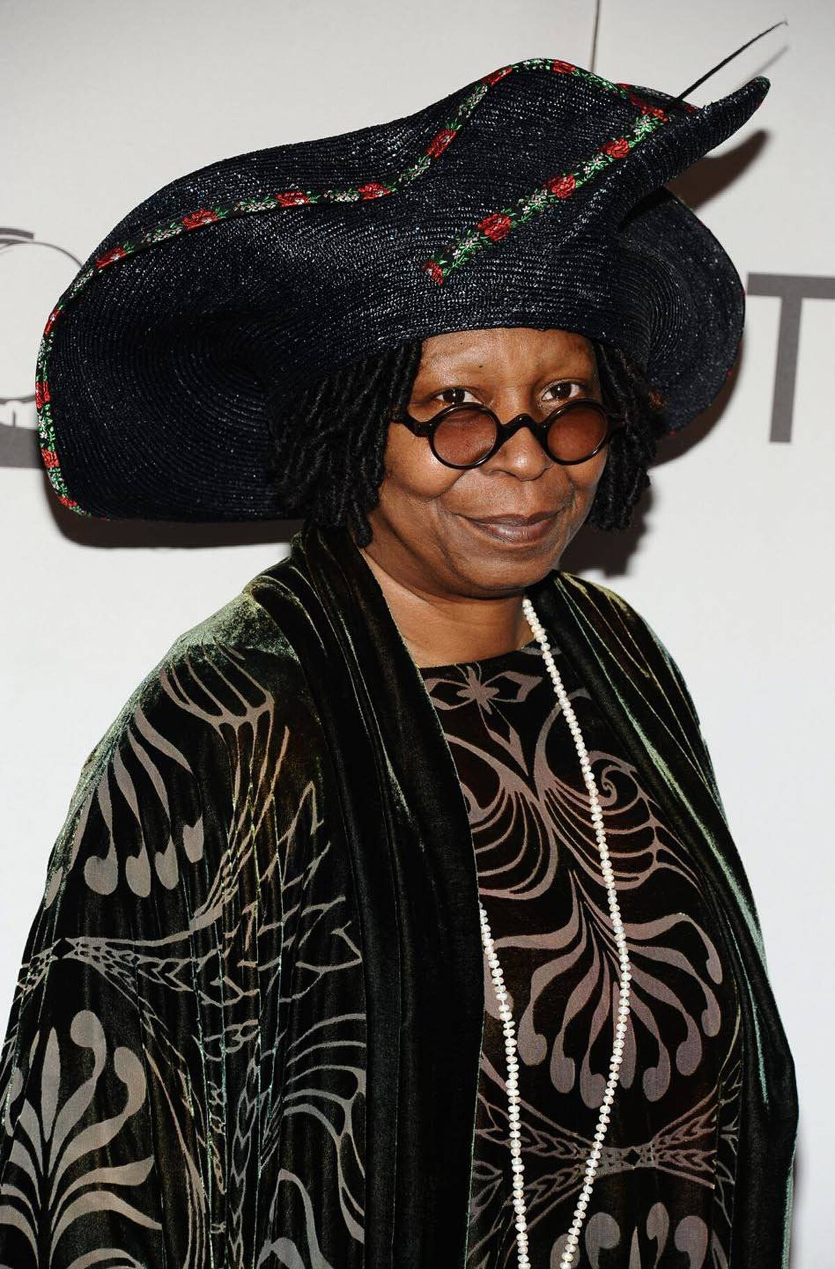 Whoopi Goldberg arrives at the 65th annual Tony Awards, Sunday, June 12, 2011 in New York.