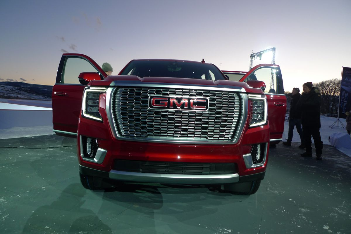 GMC reveals the 2021 Yukon, with independent rear ...