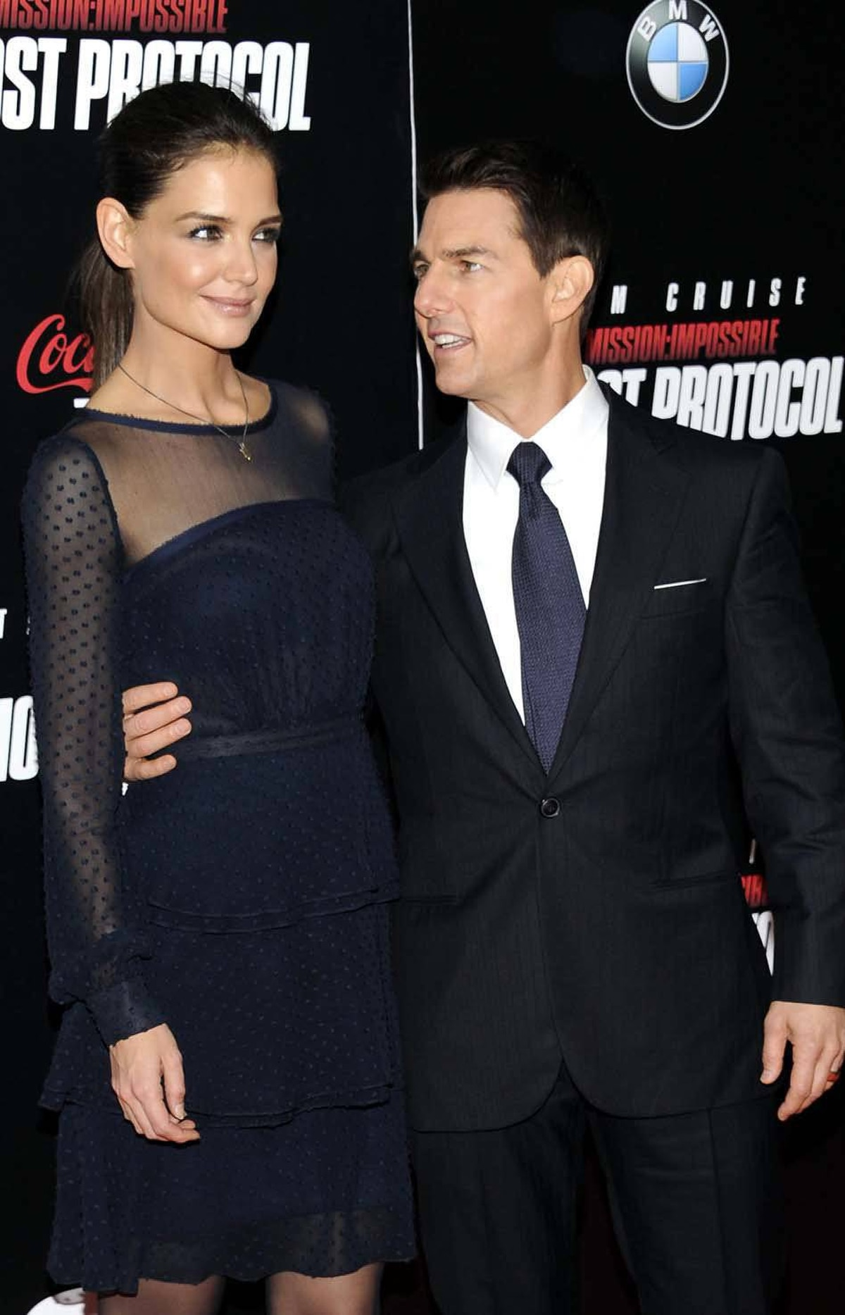 "Safely in position, Tom Cruise tells Katie Holmes that he adores her so much that he will call up his ""church"" and have it ""audit"" anyone she would like for Christmas."