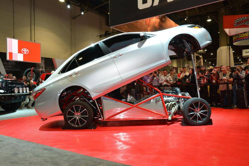 In Pictures Hot Rods And Cool Custom Cars At The SEMA Show The - Cool custom cars