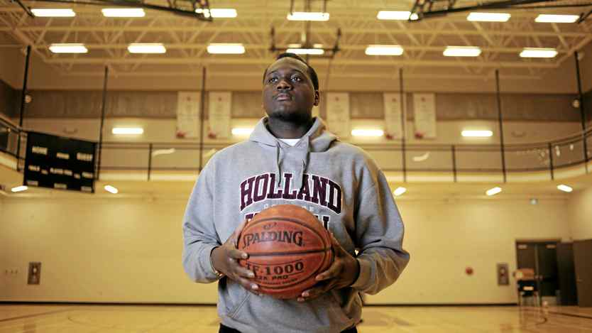 Holland College student Mark Barrett has been cut from the basketball team two years in a row due to the current rules stating the team can have a maximum of two international students on it. The school is now leading the charge to have the ruling changed.