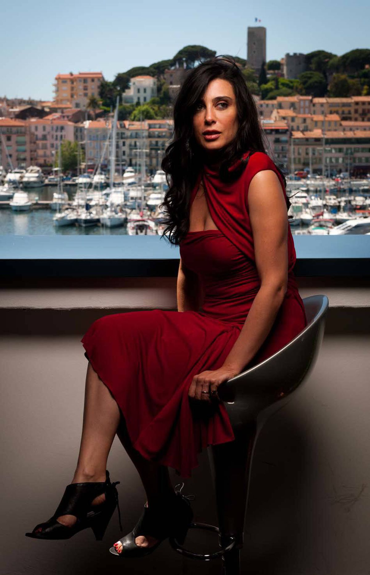 Lebanese actress and director Nadine Labaki at the Cannes Film Festival on Tuesday.