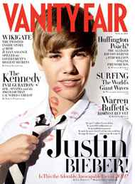 "Justin Bieber began 2011 by appearing on the cover of the February issue of Vanity Fair, which came out on Jan. 11. In the article he revealed that he was crazy AND nuts. ""I'm crazy, I'm nuts,"" was how he put it."