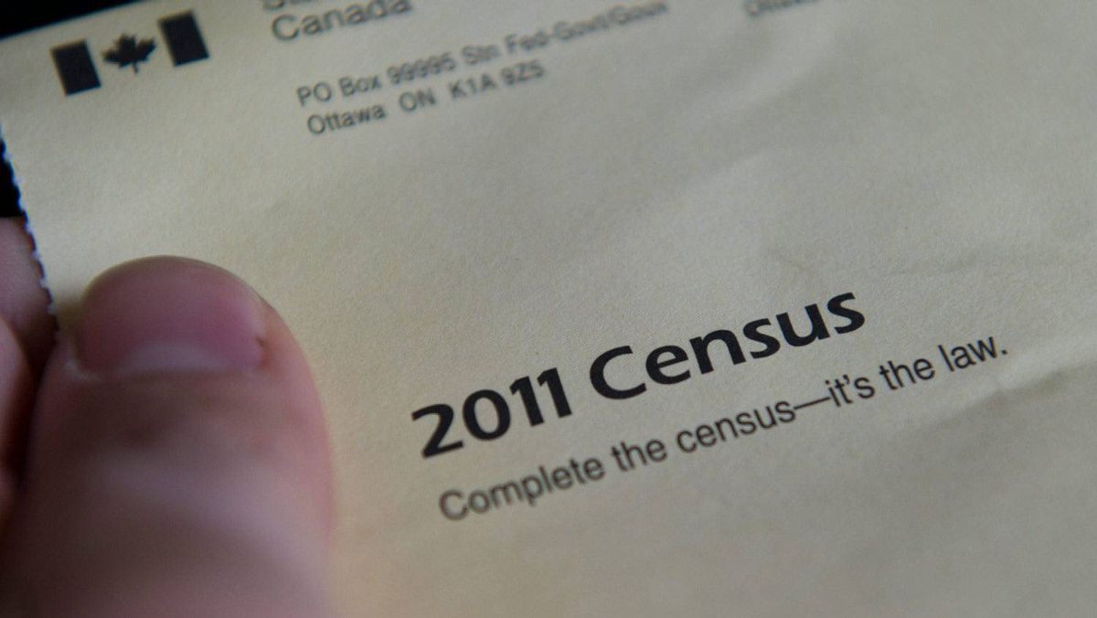 The cover of the 2011 Census package is shown in Ottawa on Thursday, May 5, 2011.