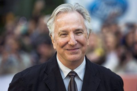 Alan Rickman, who played Snape in Harry Potter films, dies at 69