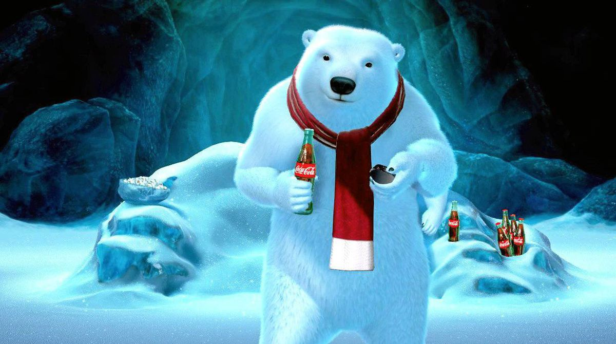 Coca-Cola's polar bears will be featured in ad spots for the Super Bowl.