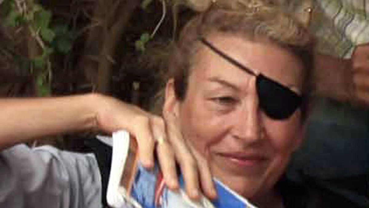Journalist Marie Colvin is seen in a June 2011 file photograph.