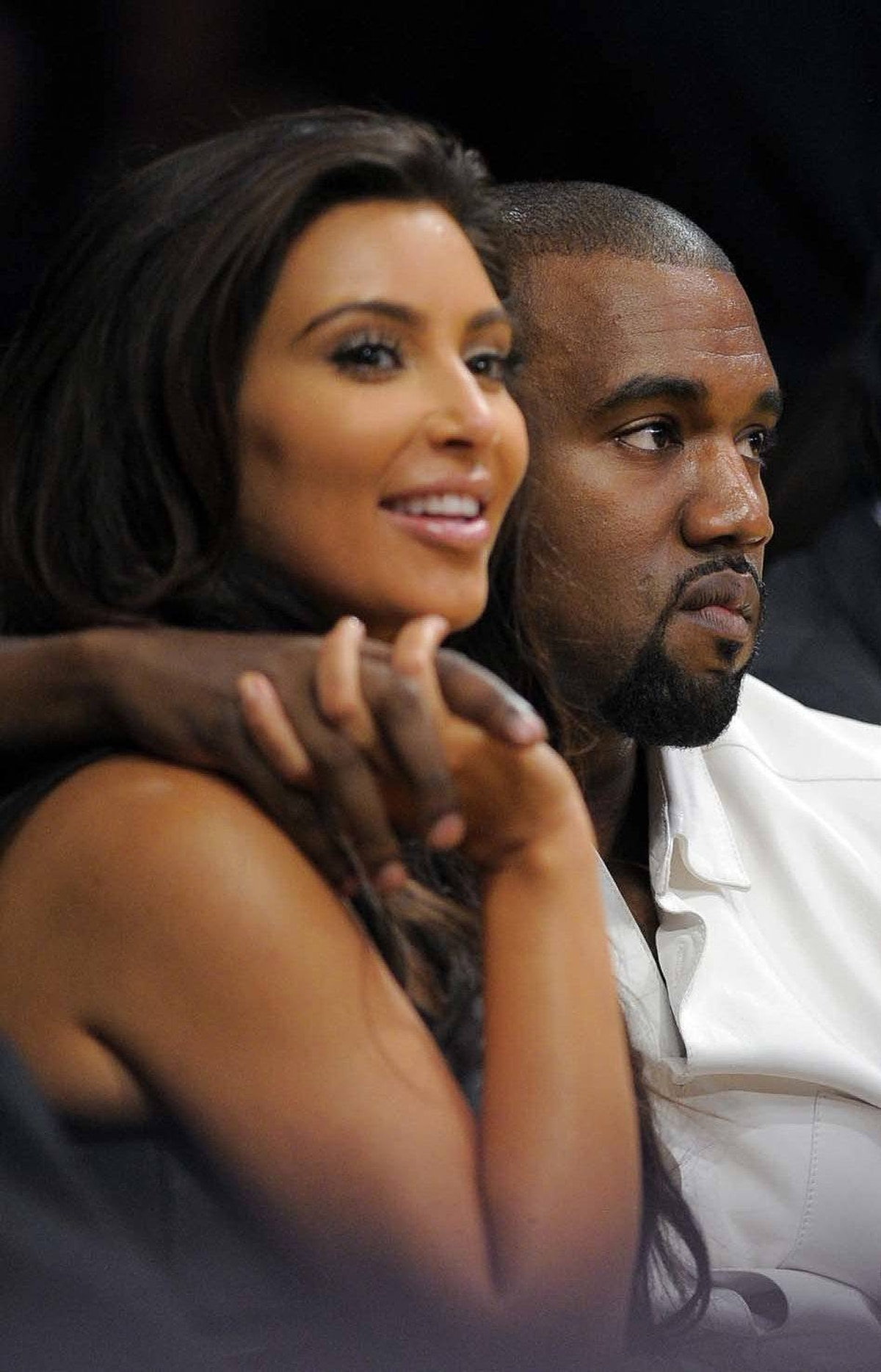 NO. &: Kim Kardashian The reality-TV star, seen here with her future ex-husband Kanye West, managed to get both married and separated in the year under consideration, events which both earned her untold millions. This is a reliable indicator that shame and talent are not part of the Forbes algorithm.