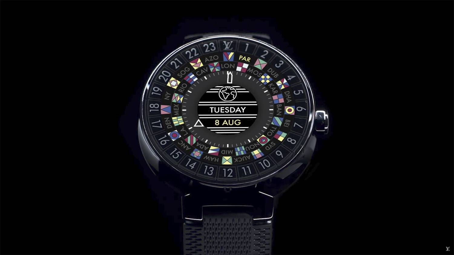 ebd6506b1357 Louis Vuitton makes smartwatch debut  aims to rival Apple Watch ...