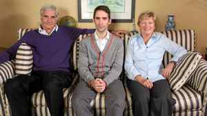 "Phil Hanley at home with his folks in a scene from ""Generation Boomerang"""