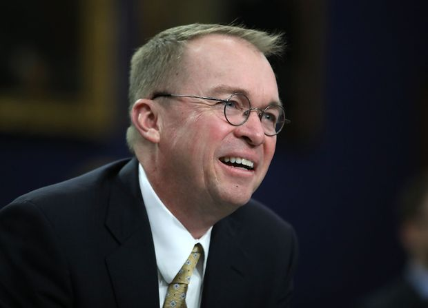 Trump appoints Mick Mulvaney as temporary Chief of Staff