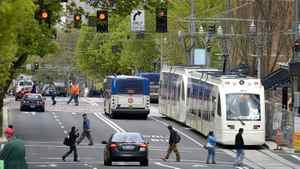 Downtown Portland April 9, 2009.