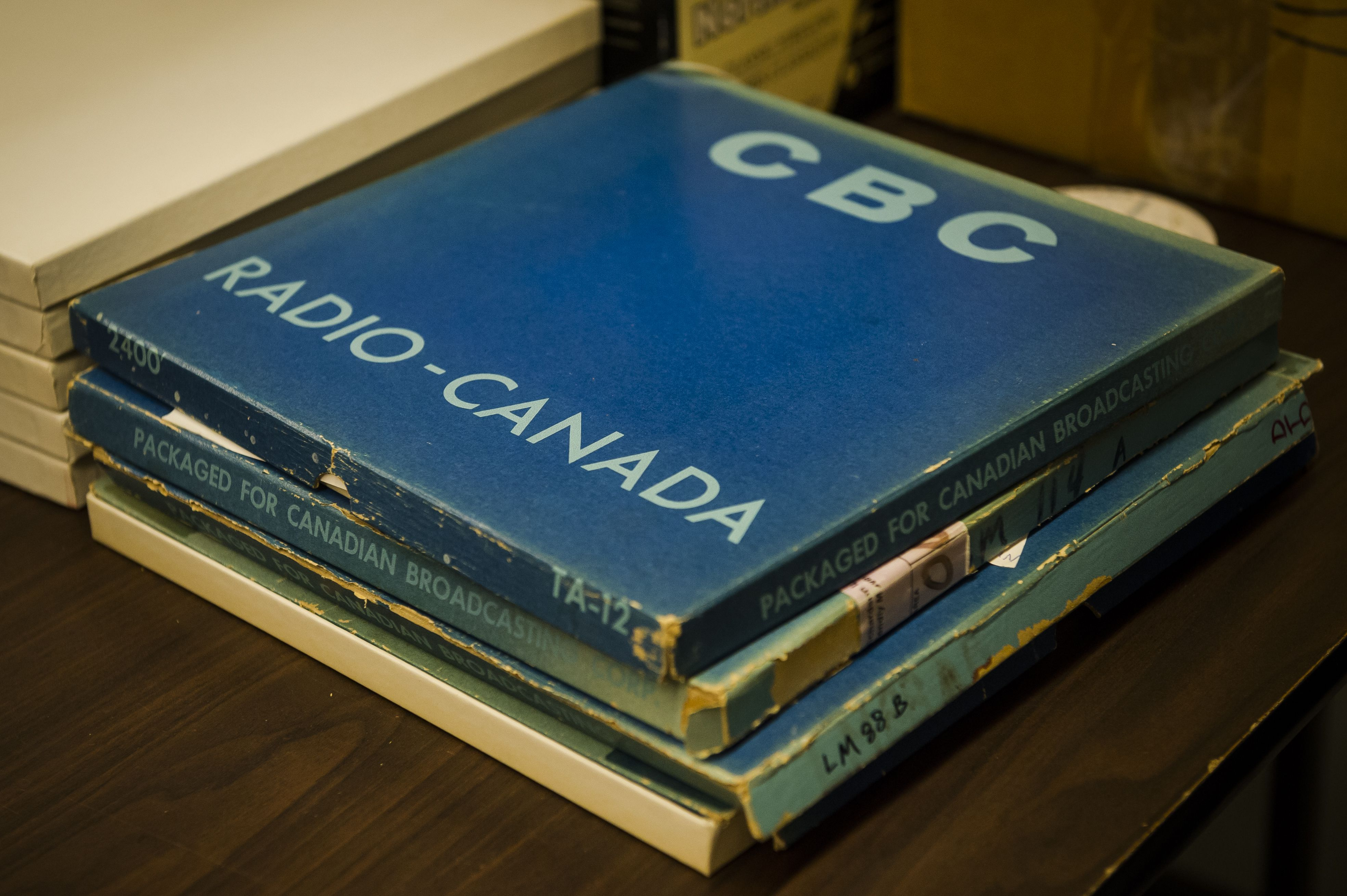 A visit to the CBC archives, on the eve of destruction - The