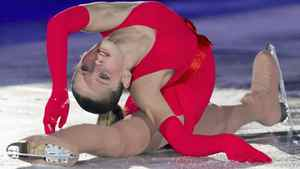 Junior gold medallist Julia Lipnitskaia of Russia performs during exhibition gala Sunday, December 11, 2011 at the ISU Grand Prix of Figure Skating Final in Quebec City. THE CANADIAN PRESS/Jacques Boissinot