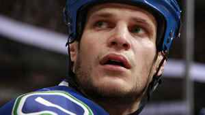 Kevin Bieksa #3 of the Vancouver Canucks. (Photo by Jeff Vinnick/NHLI via Getty Images)