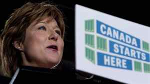 British Columbia Premier Christy Clark in Vancouver, B.C. Thursday, Sept. 22, 2011.