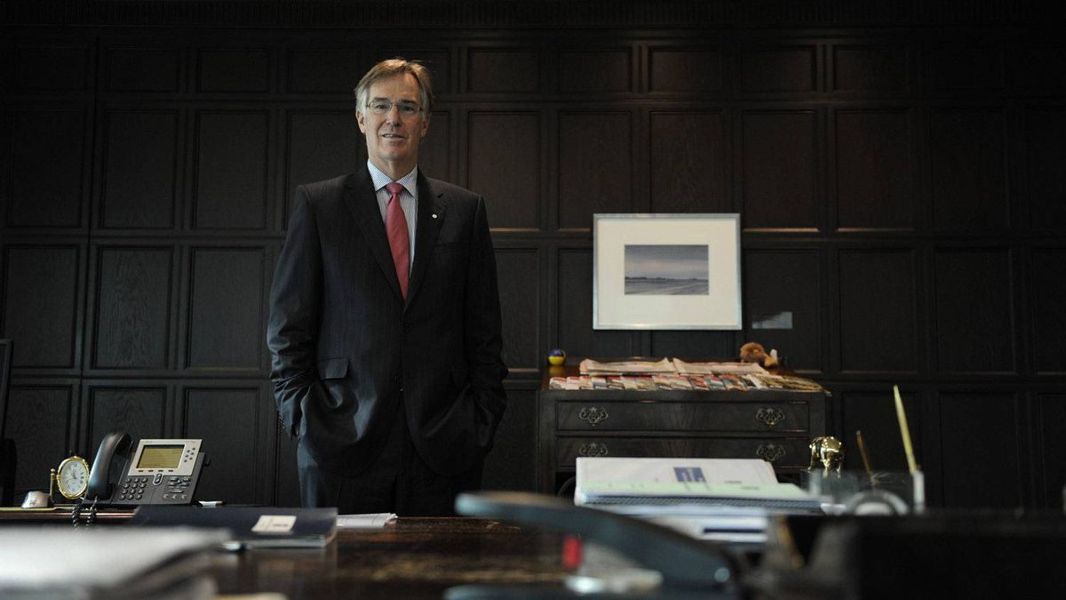 Gordon Nixon, CEO of Royal Bank of Canada, at his Toronto office. Mr. Nixon says the era of big banking deals is over.