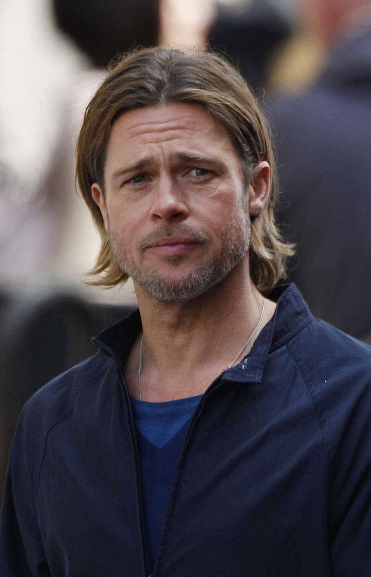 """Brad Pitt is nominated for Best Actor for his role in """"Moneyball."""""""