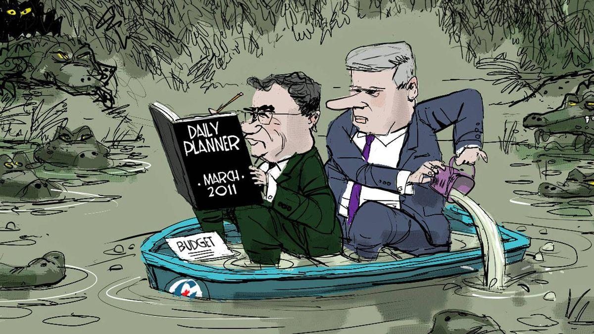 Editorial cartoon by Brian Gable.