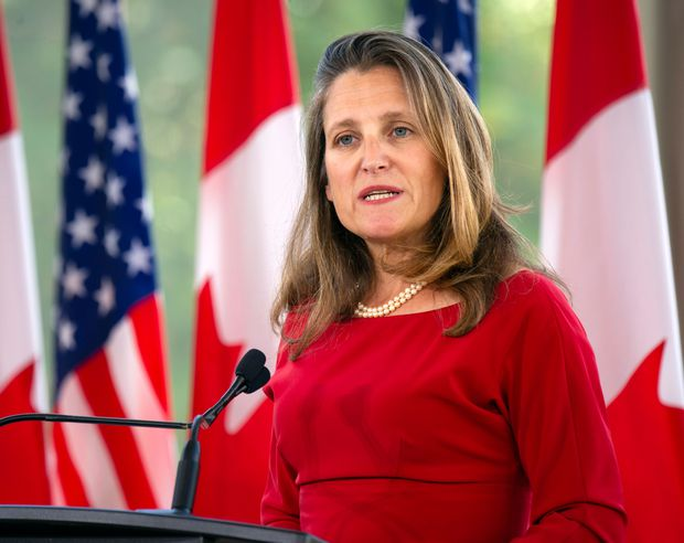 For Chrystia Freeland, the political is personal
