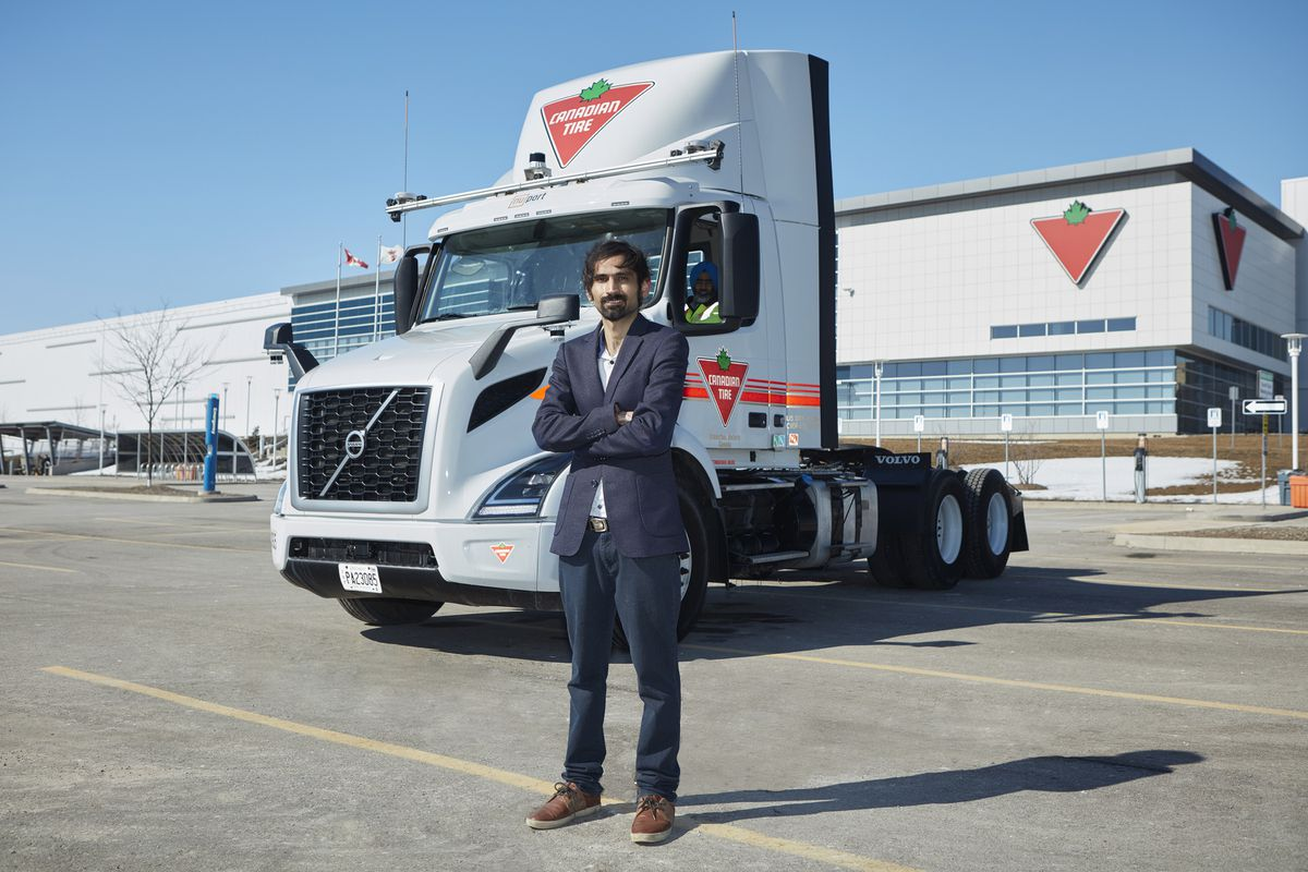 Ontario partnership to test first-of-its-kind autonomous truck technology