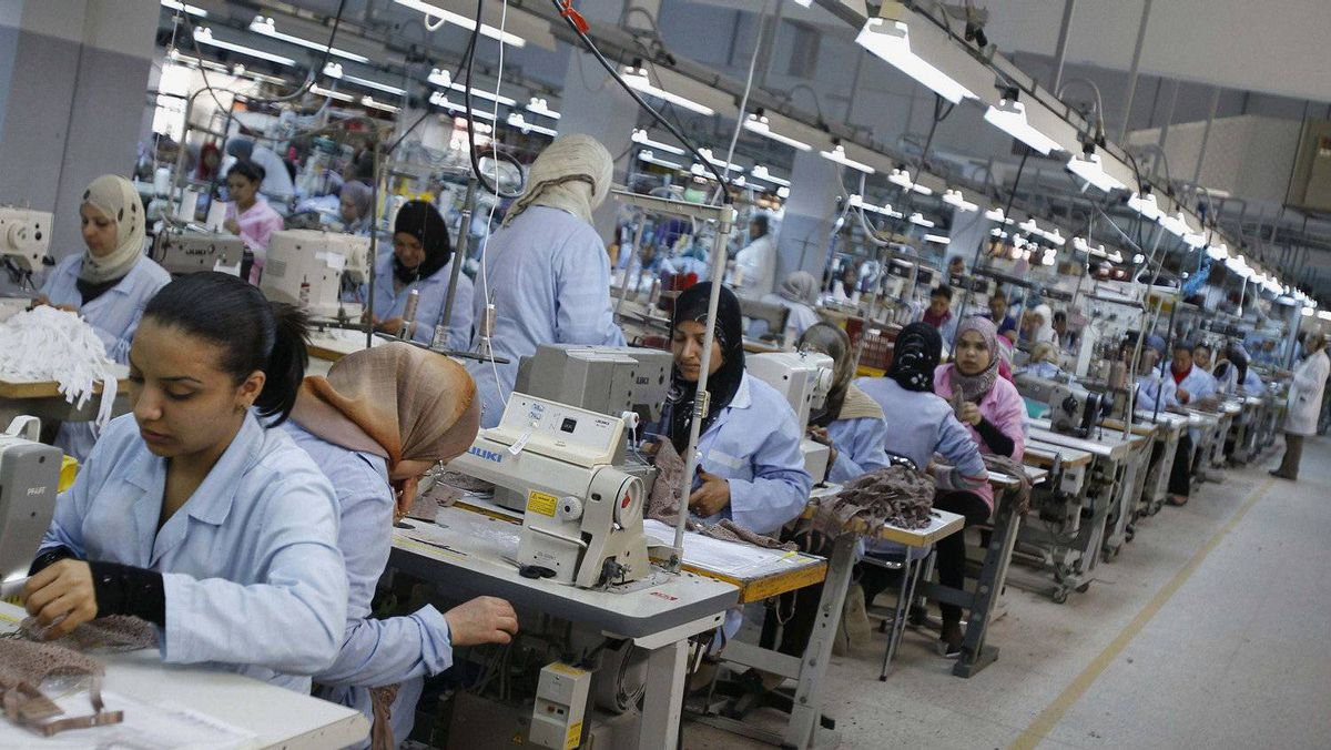 The Tunisian factory, in a industrial zone near the city of Sfax, employs 700 workers to make lingerie and swimwear for La Perla and other brands that formerly were made in China, part of a growing trend. More than a quarter of all French lingerie is now made in Tunisia and Morocco.