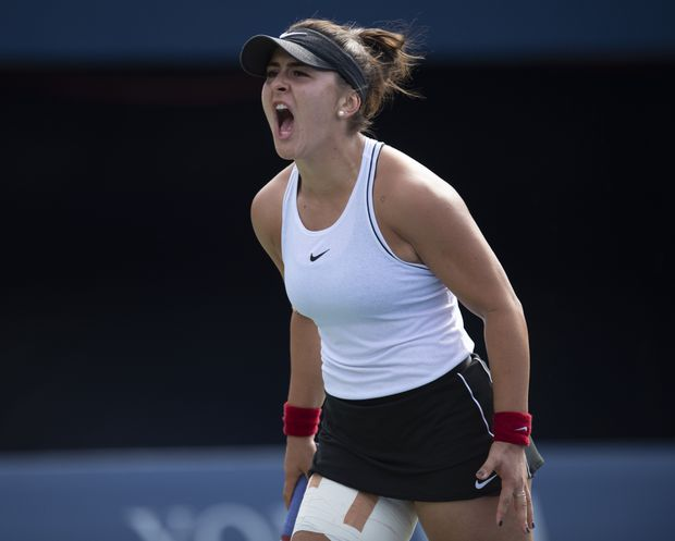 Andreescu becomes 1st Canadian in 50 years to reach Rogers Cup final