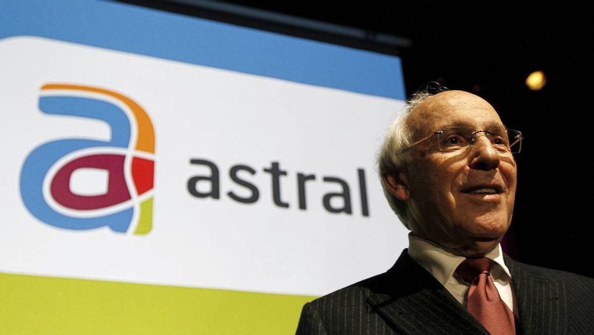 Astral Media Inc.'s President and CEO Ian Greenberg poses before the company's annual shareholders meeting in Montreal, December 9, 2010.