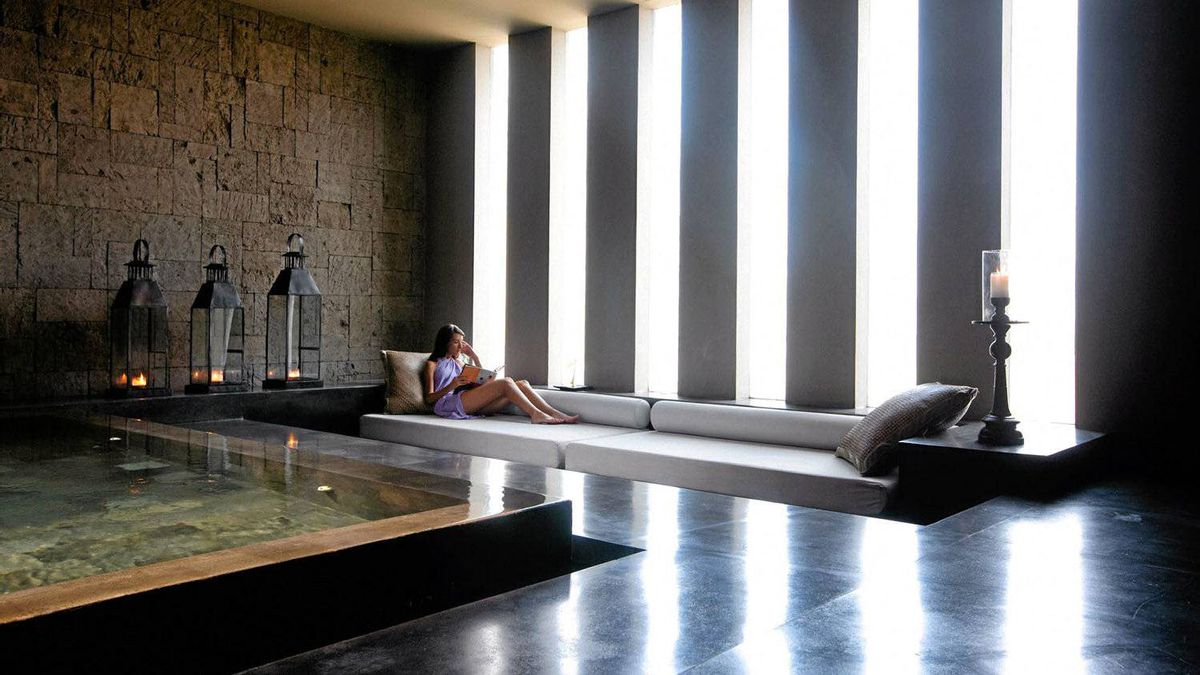 The spa at Alila Villas Soori in Bali.
