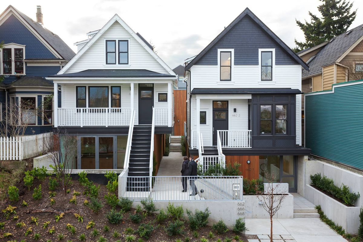 Vancouver 39 eco heritage 39 project blends old and new the for Vancouver architecture firms