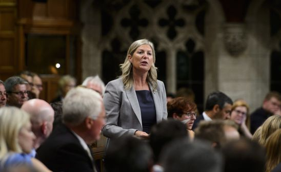 Globe editorial: Leona Alleslev and the unseemly politics of crossing the floor