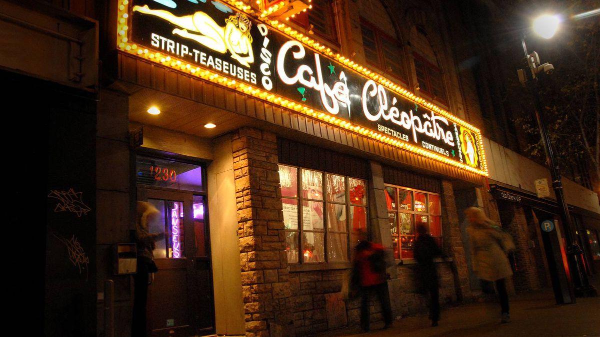 Cafe Cleopatre is the last vestige of St. Laurent Boulevard's storied past.