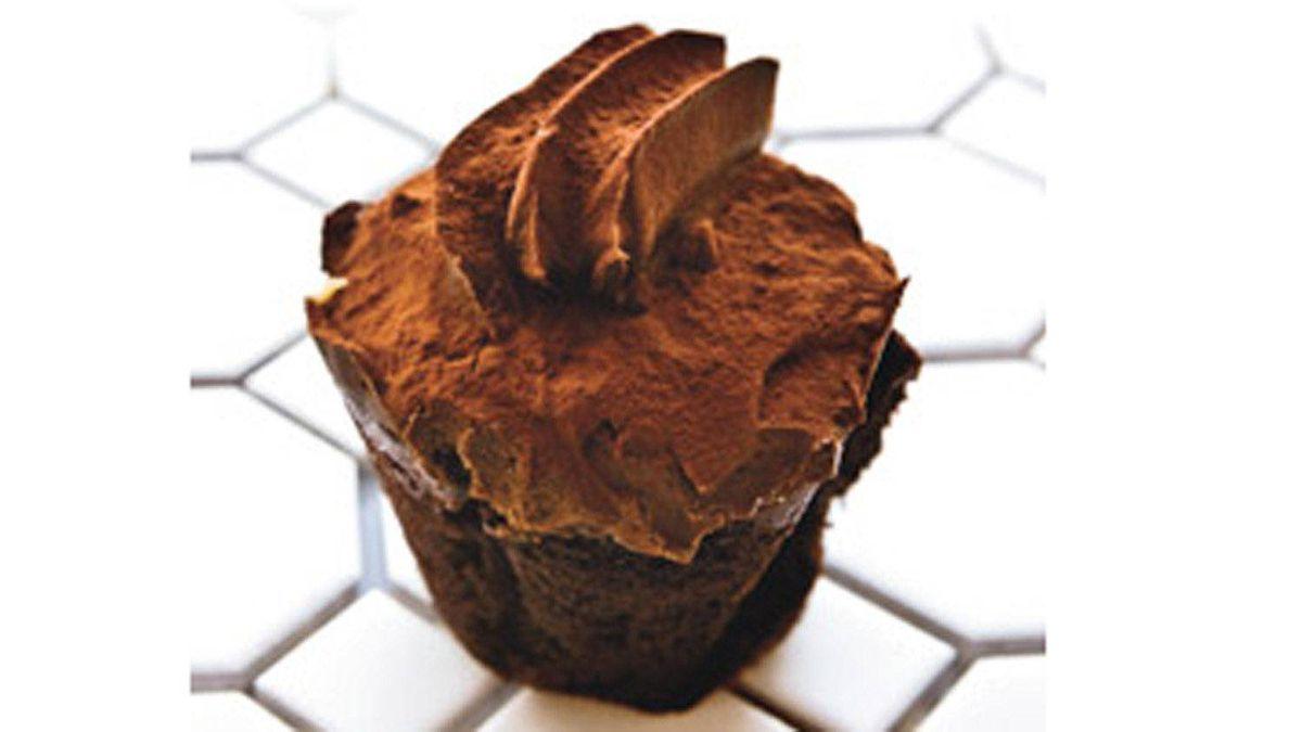 One of Marlo Scott's cupcake creations.