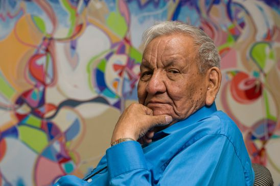 Alex Janvier's colourful life: 'I am in love when I am painting'