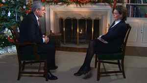 CTV News Chief Anchor and Senior News Editor Lisa LaFlamme is shown during an exclusive interview with Prime Minister Stephen Harper.