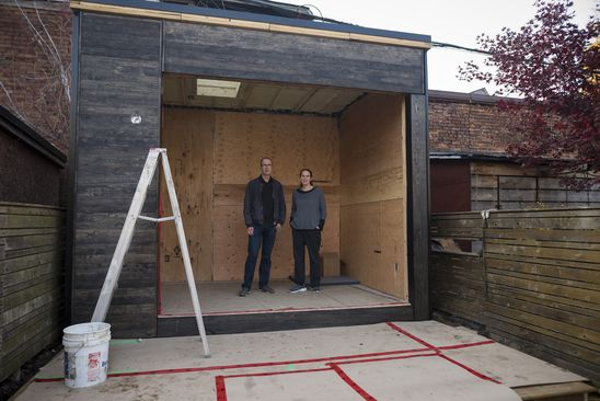 Stuck indoors during COVID-19, some homeowners build backyard pods for extra space