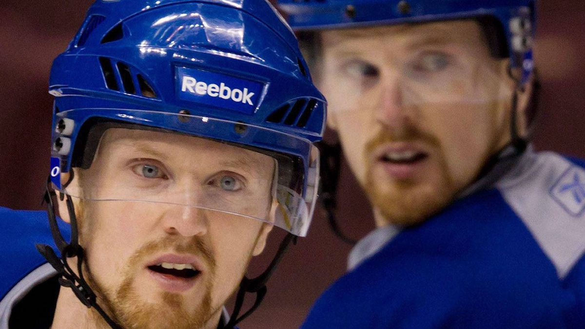 Vancouver Canucks Daniel and Henrik Sedin have responded to comments by Versus analyst Mike Milbury. THE CANADIAN PRESS/Darryl Dyck