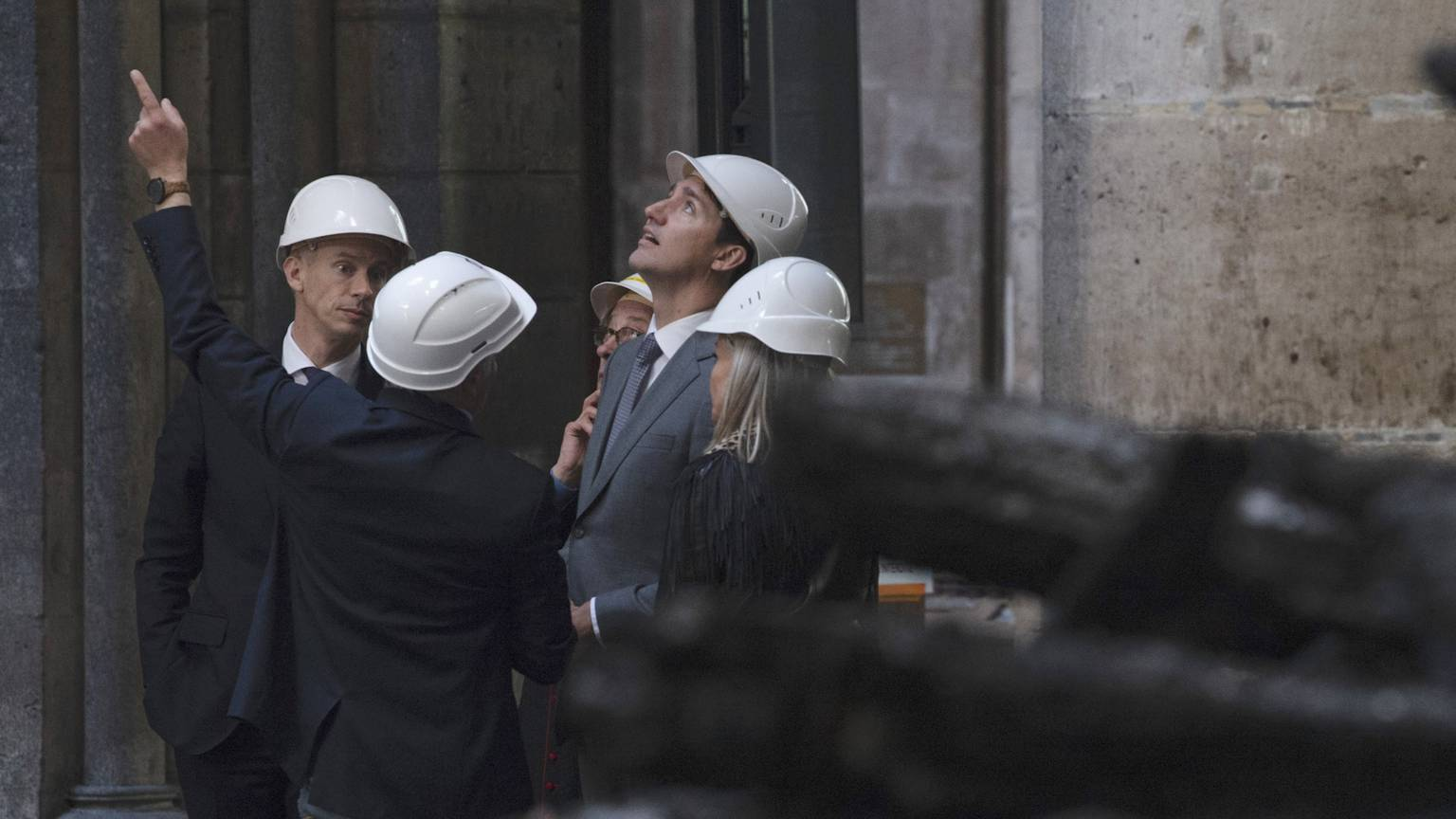 Trudeau offers Canadian lumber, steel to help rebuild France's Notre-Dame Cathedral