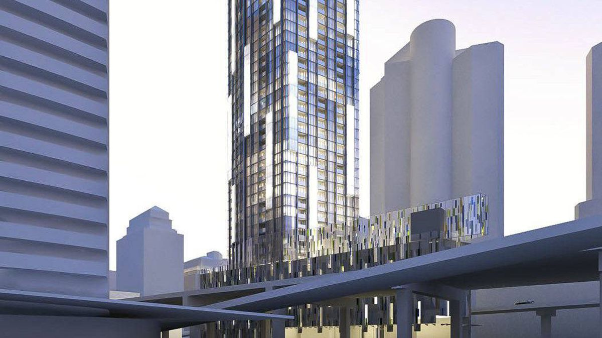The City of Toronto is making a bet on the waterfront high-rise condo boom, predicting it can make money by being a partner in a proposed 75-storey tower on a postage-stamp-sized piece of city property at York and Harbour Streets.