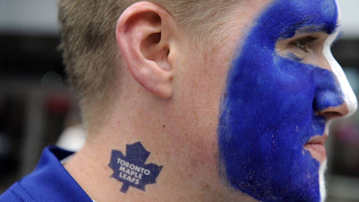 Various photos of hockey fans during the Toronto Maple Leafs' season opener against the Montreal Canadiens at the Air Canada Centre. PHOTO BY FRED LUM/ GLOBE AND MAIL