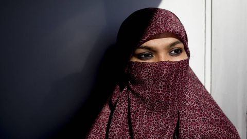 Woman at centre of niqab debate says she's educated, not oppressed
