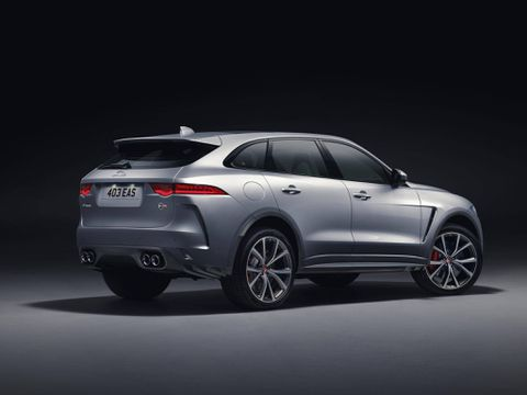 Jaguar doubles down on power with new F-Pace SVR SUV