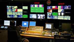 An Al-Jazeera control room
