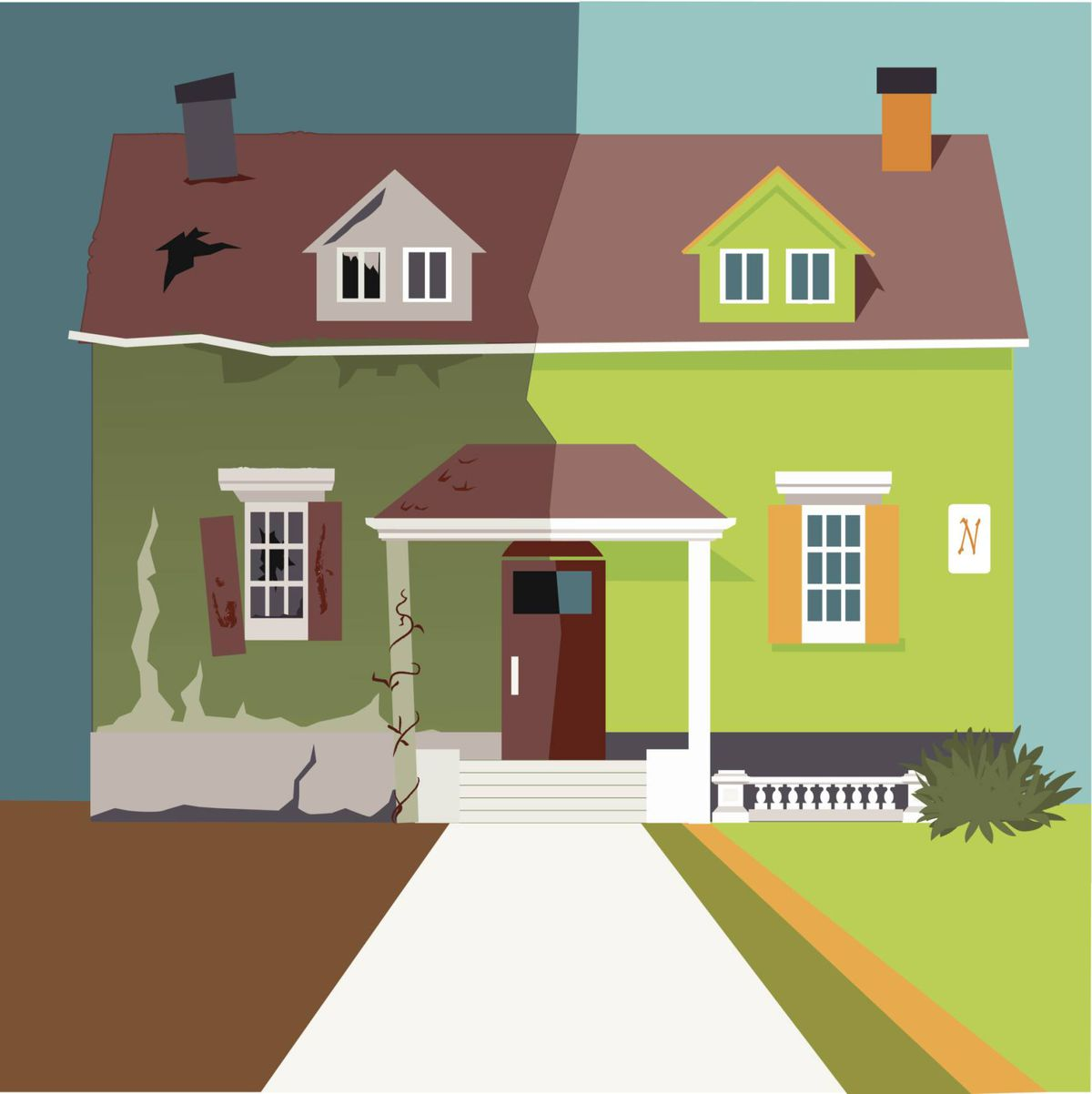 flipping a house real estate strategy essay There are ups and downs for both real estate and stock investments feels more real some people take the home flipping route.