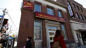 A Canadian Imperial Bank of Commerce or CIBC location in Toronto.