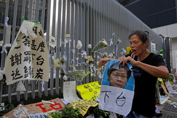 Hong Kong lawmakers grill security forces over accusations of brutality
