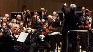 "The Toronto Symphony Orchestra begins their 2010 season at Roy Thomson Hall on Sept. 23, 2010, with an opening-night performance of Mahler Symphony No. 2 ""Resurrection""."